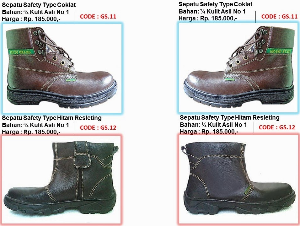 Sepatu Safety Murah Berkualitas Images